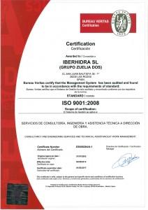 ISO 9001 IBERH2014